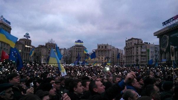 Сын Луценко показал свои счастливые фото с Евромайдана