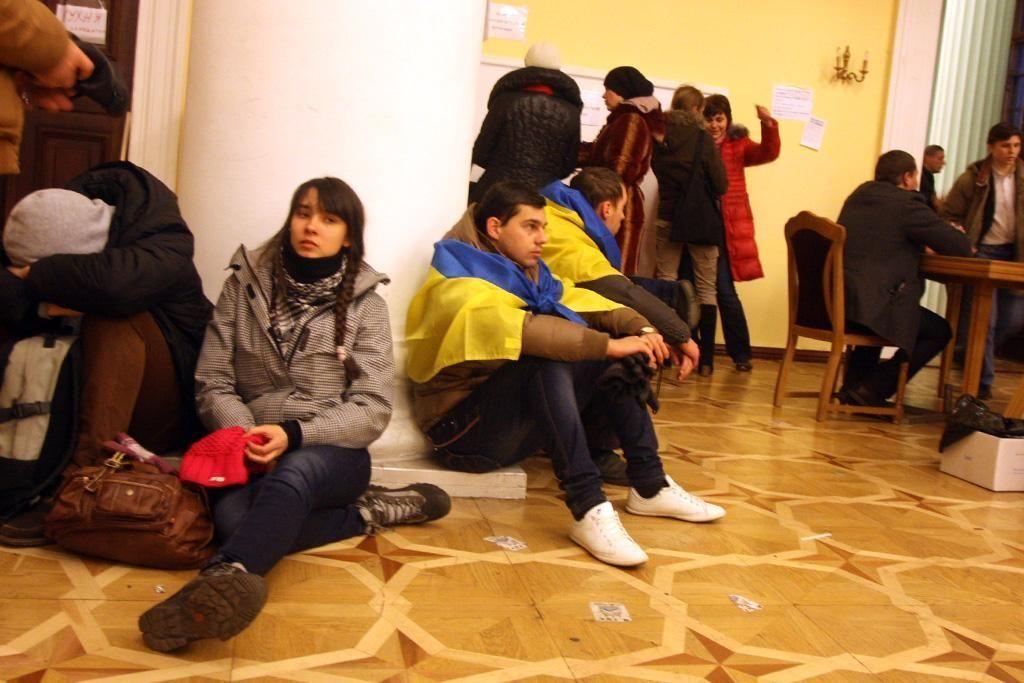 Жизнь Евромайдана: зарисовки с натуры
