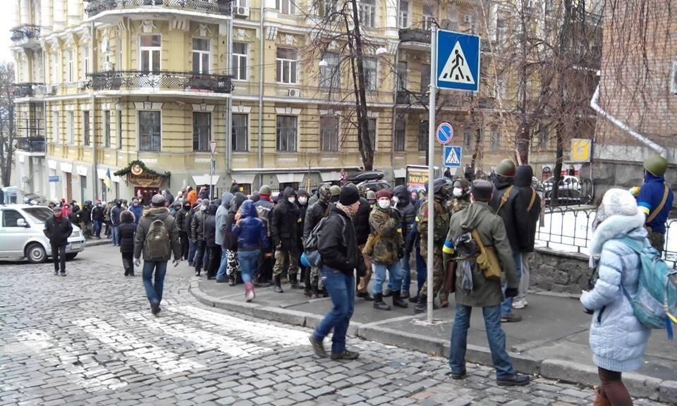 В МВД ожидают штурма Администрации Президента