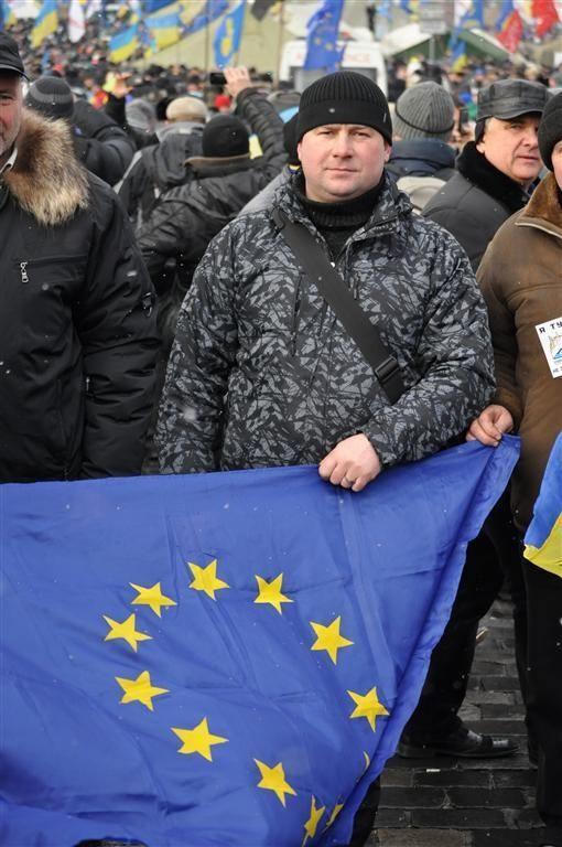 Евромайдан вышел на Марш миллиона. Фоторепортаж