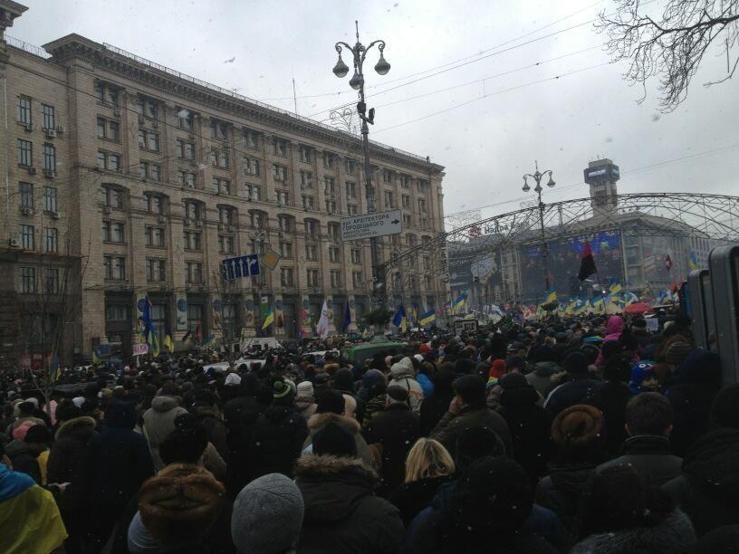 Милиция Киева нашла детей, пропавших на Евромайдане