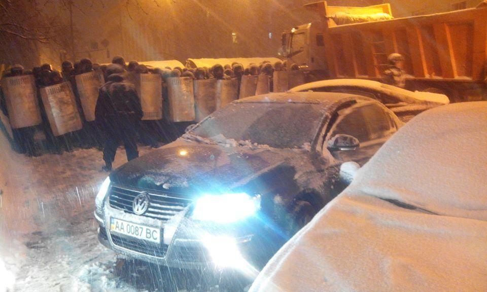 Евромайдан: лучшие фото дня