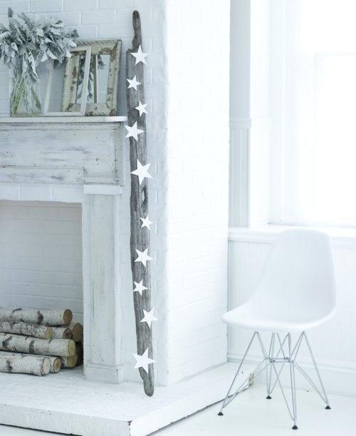 Белоснежный декор к Новому году и Рождеству