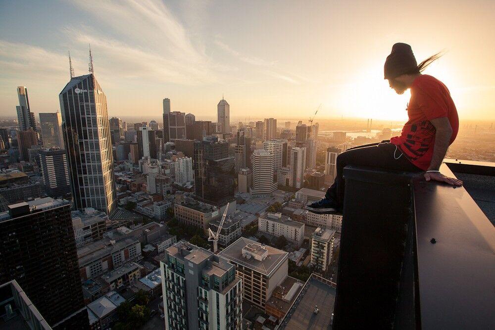 картинки людей на высоте самая