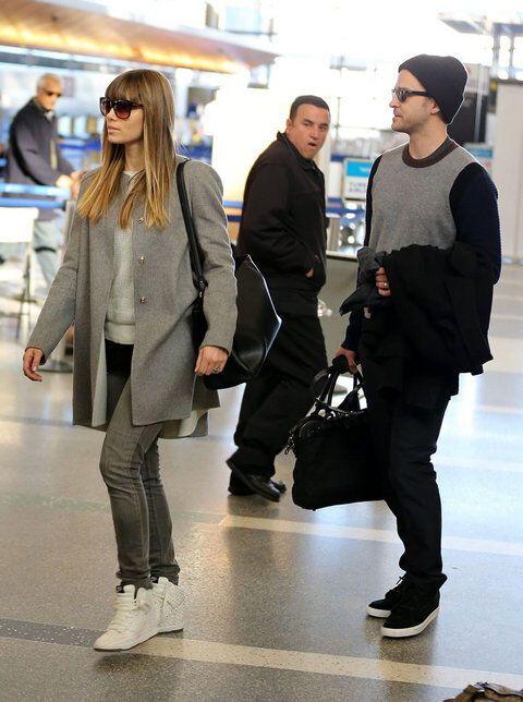 Тимберлейк и Билл покидают Лос-Анджелес. Фото
