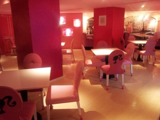 В Тайвани открылось Барби-кафе