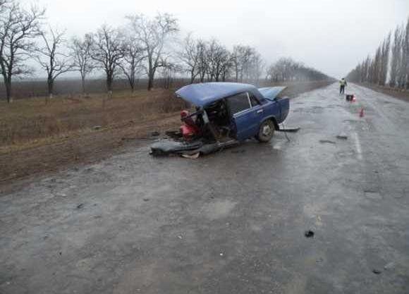 Начальник милиции попал в ДТП на Николаевщине
