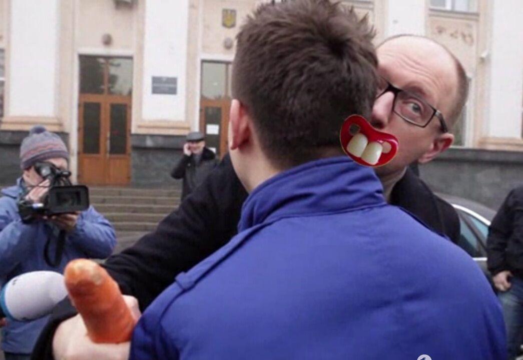 Яценюк - Дурнєву: дивись, щоб я тобі не засунув