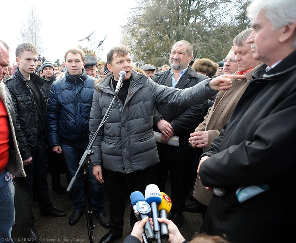 Инцидент с изрезанной беременной собрал митинг на Черниговщине