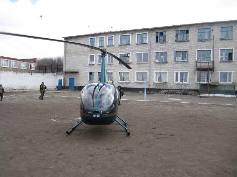 На Кировоградщине зэки пытались бежать на вертолете