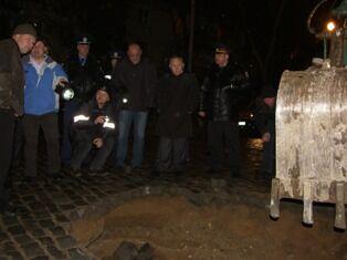 В Севастополе провалилась дорога