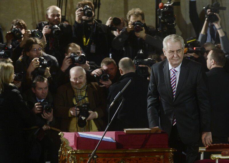 У Чехії пройшла інавгурація нового Президента Земана. Фото