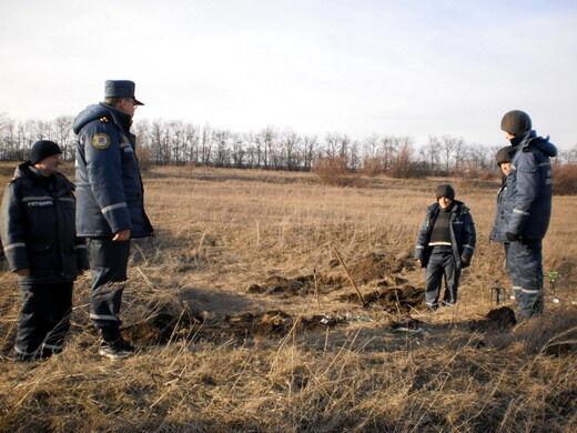 Около 300 боеприпасов времен ВОВ обнаружили на Луганщине