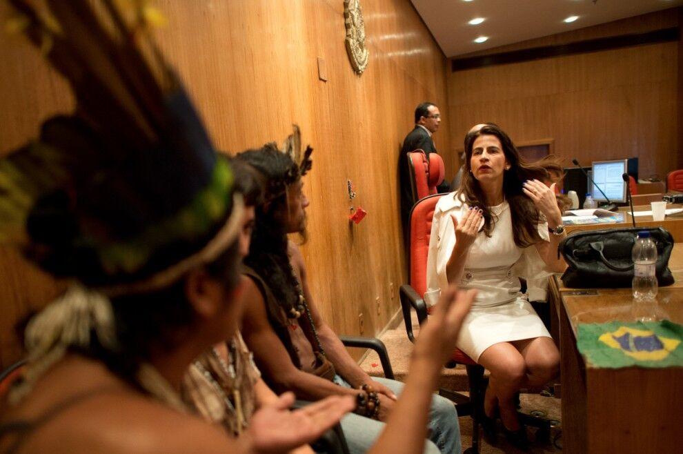 Виселення індіанців в Ріо-де-Жанейро