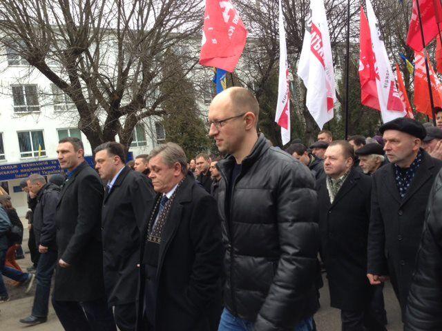 """Милиция насчитала в Луцке 600 оппозиционных """"повстанцев"""""""