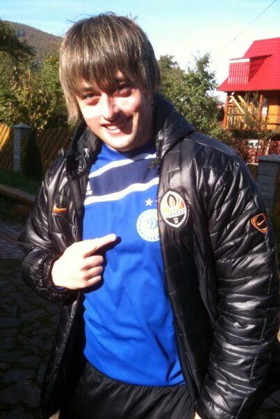 Сын Луценко называет папу боксером. Фото