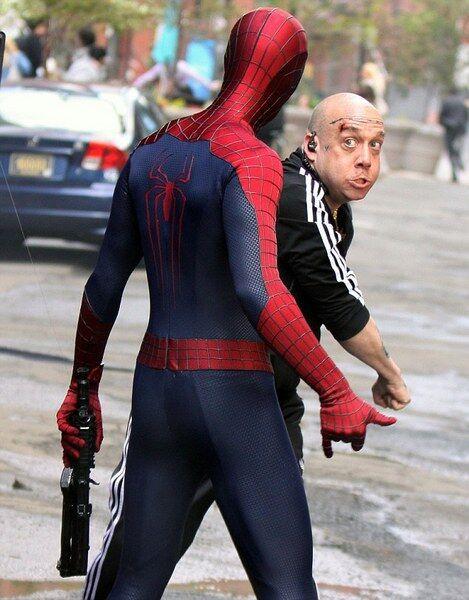 """Съемки """"Нового Человека-паука 2"""": злодей без штанов"""