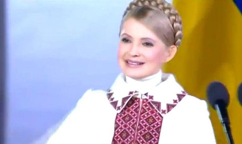 """В Интернете появился клип """"Океана Эльзы"""" о Тимошенко"""