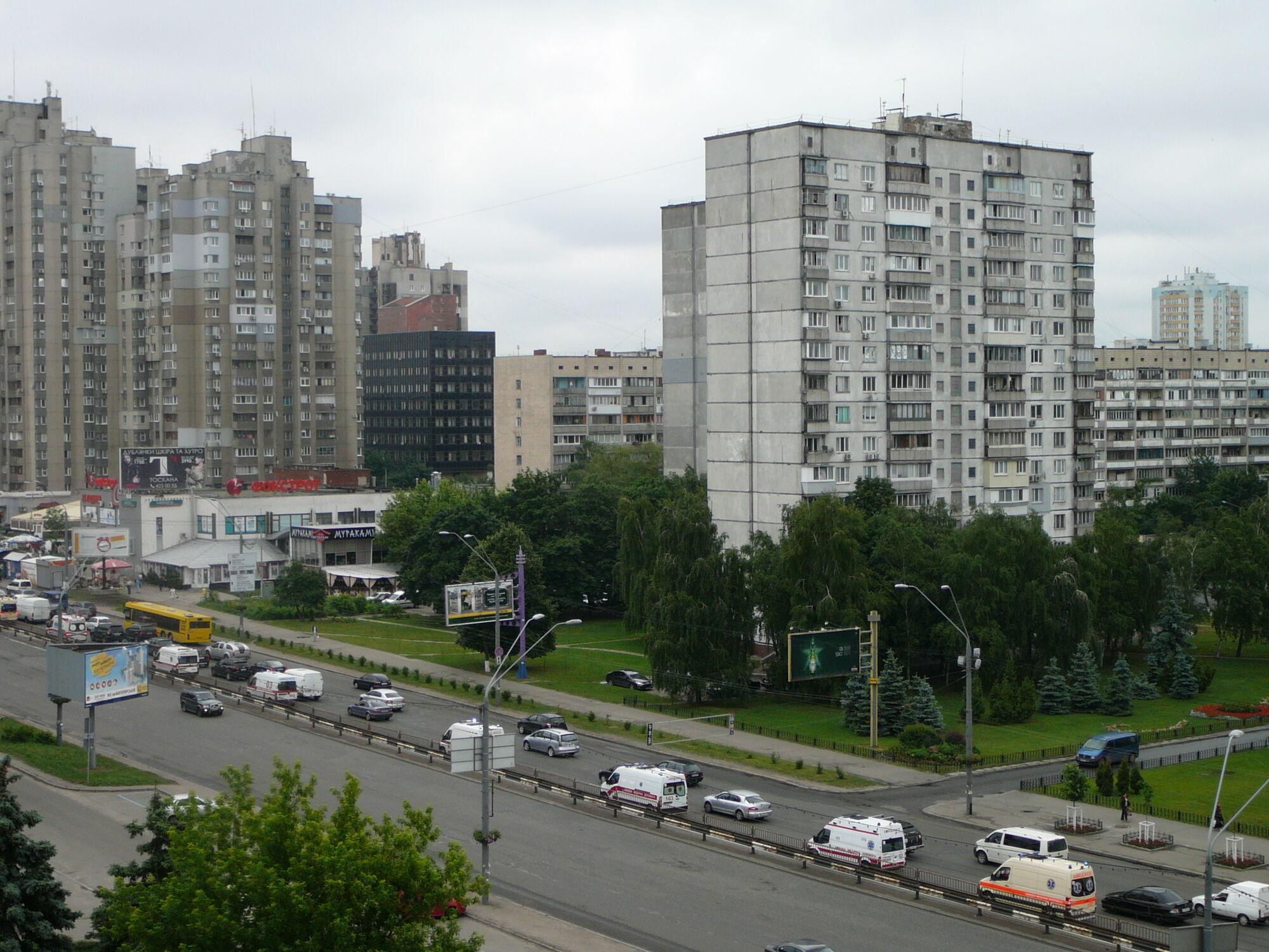 """""""Скорые"""" вызвали панику у киевлян"""