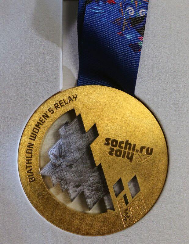 Олимпийские медали игр в Сочи 2014: премьера