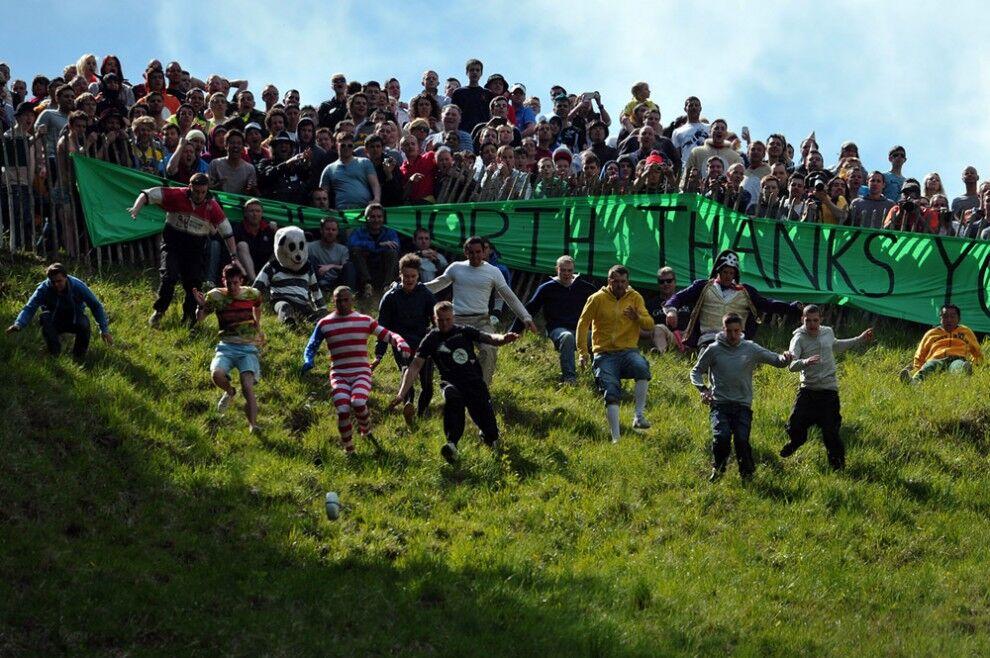 Куперсхилдская сырная гонка 2013