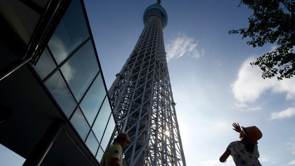 В Японии началось вещание с самой высокой телебашни в мире