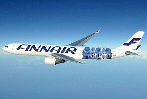 Finnair випадково розфарбувала літак візерунком української художниці
