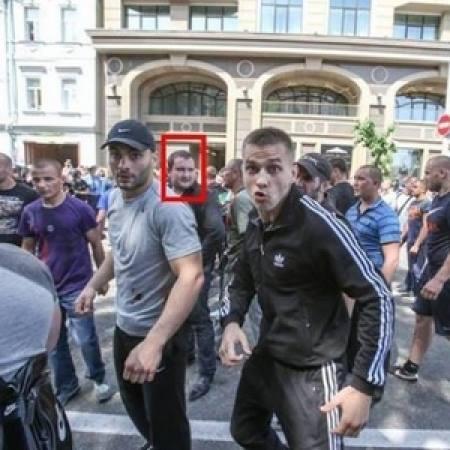 """Съезд """"Батьківщини"""" охранял один из нападавших на журналистов?"""