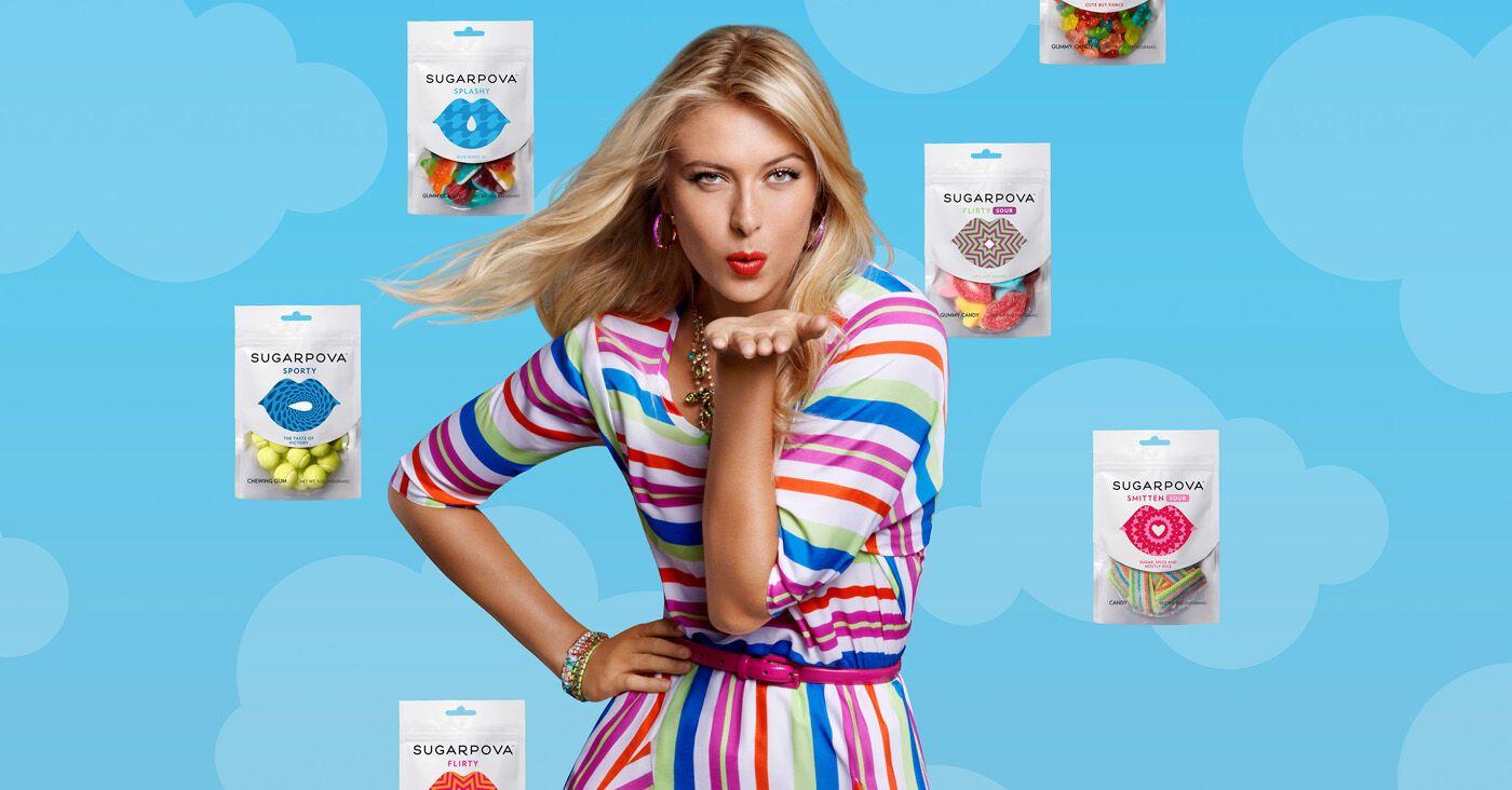 Шарапову раскритиковали за рекламу собственных конфет