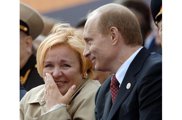 Путін про розлучення з дружиною: вона відстояла свою вахту