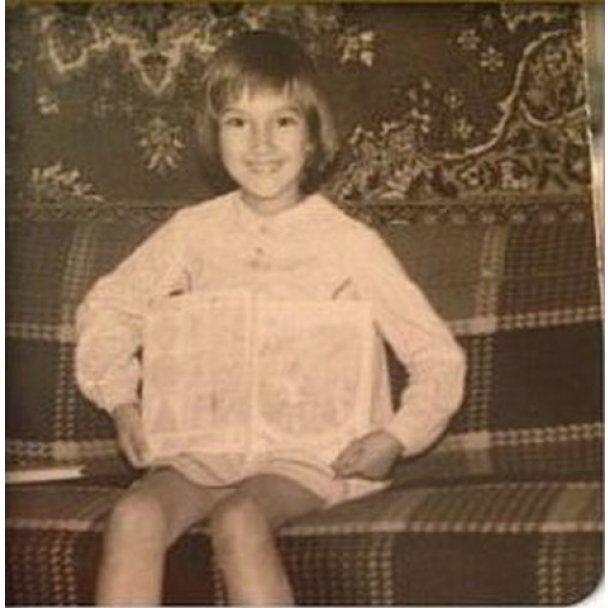 Кудрявцева показала, якою була в дитинстві