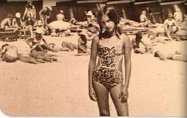 Кудрявцева показала, какой была в детстве