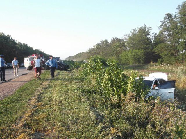 На Кіровоградщині у ДТП постраждали три людини