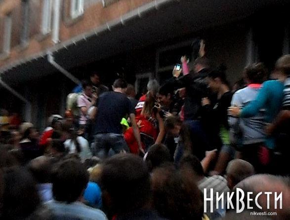 Міліція поранила штурмують райвідділ у Врадіївці - ЗМІ
