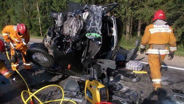 У ДТП в Білорусі загинули українці