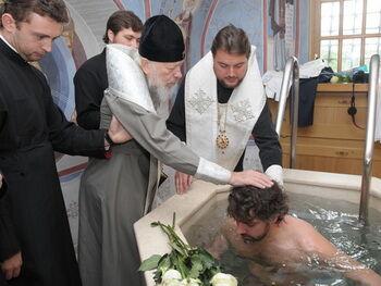 Добкін хрестив 37-річного Дівєєва-Церковного