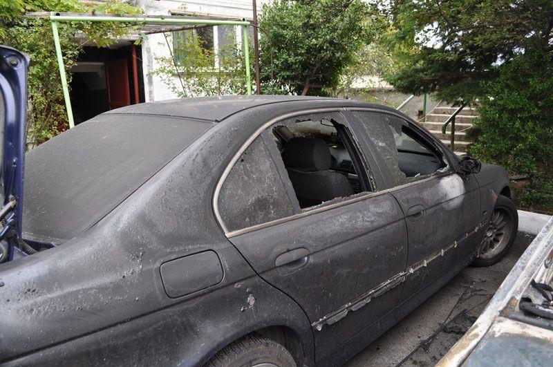 В Алупці підпалили авто депутата від Партії регіонів