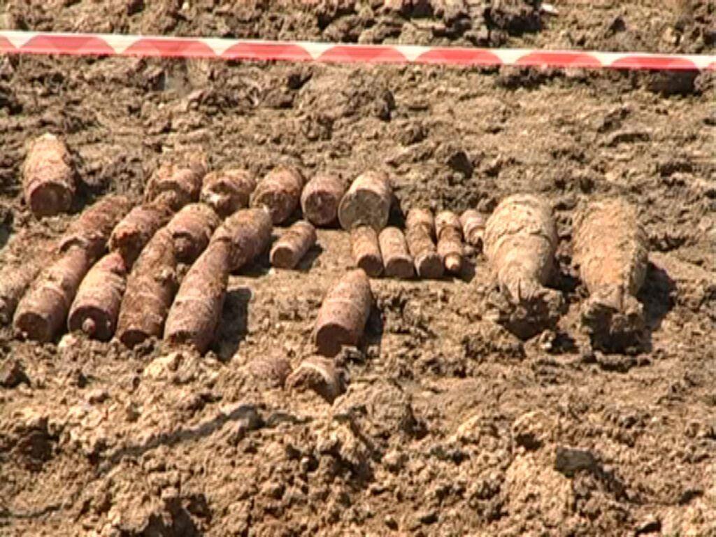 На Івано-Франківщині на території заводу знайшли 150 боєприпасів
