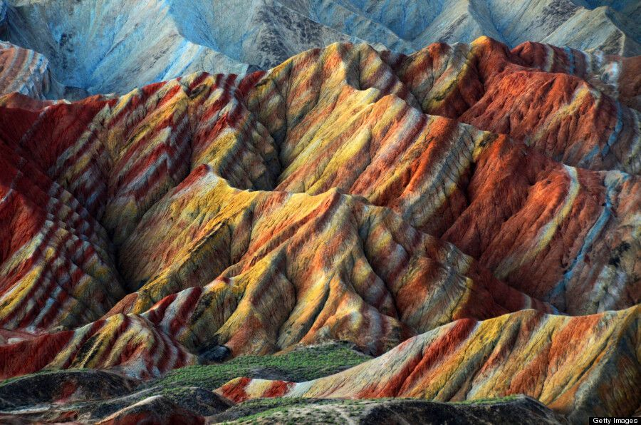 За 24 млн лет в Китае сформировались радужные горы