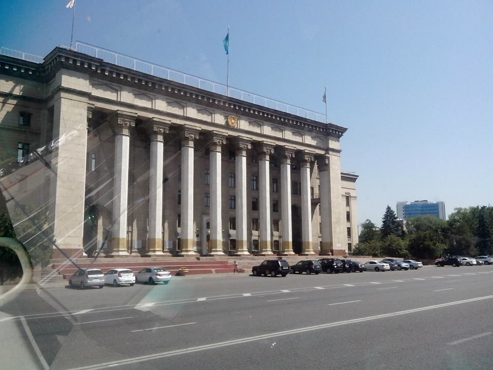 Нардеп Медуниця показав, як відпочиває в Алма-Аті