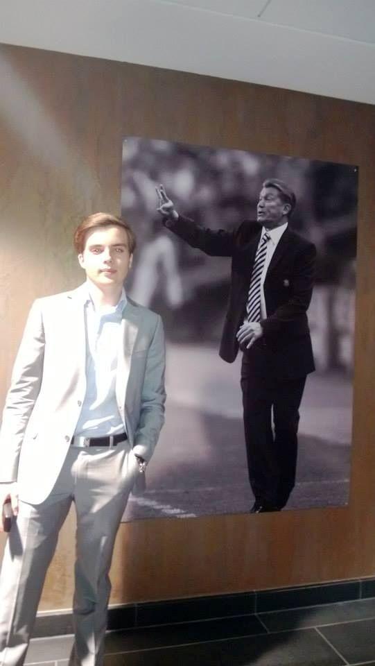 Крестник Тимошенко мечтает стать суровым президентом