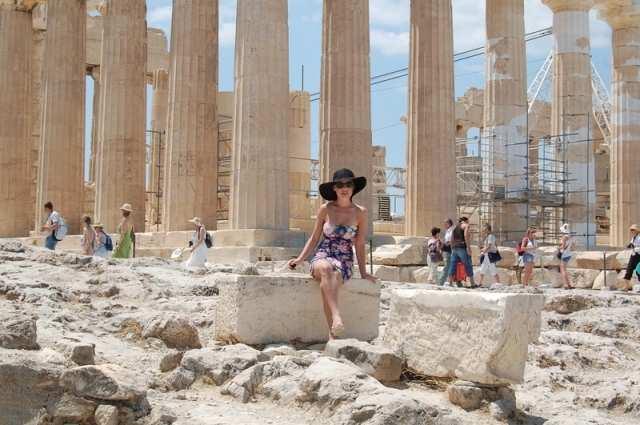 Гордиенко, Фагот и Навроцкая отдохнули в Греции