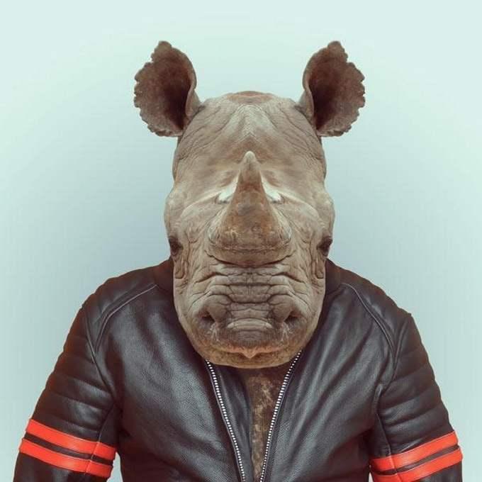 Прикольные картинки людей с головами животных