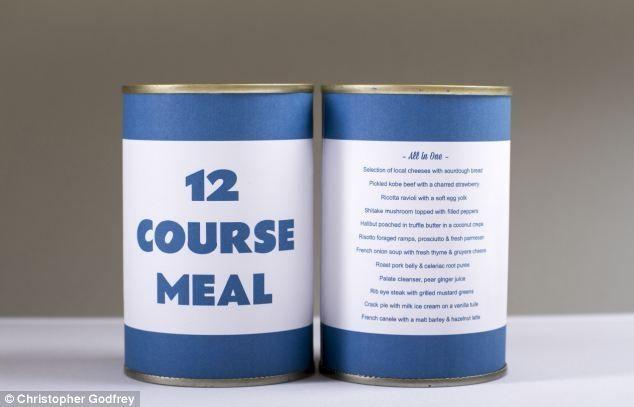 Студент пхнув в консервну банку обід з 12 страв
