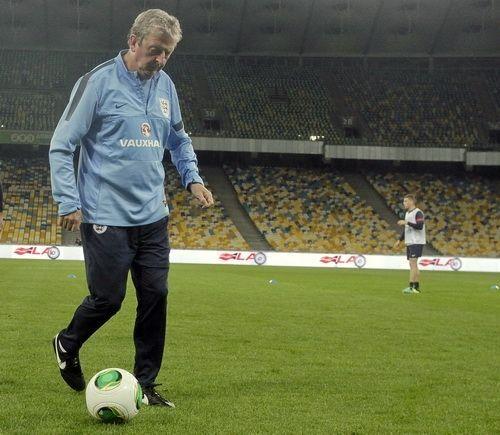 Украина – Англия: как команды готовились к матчу