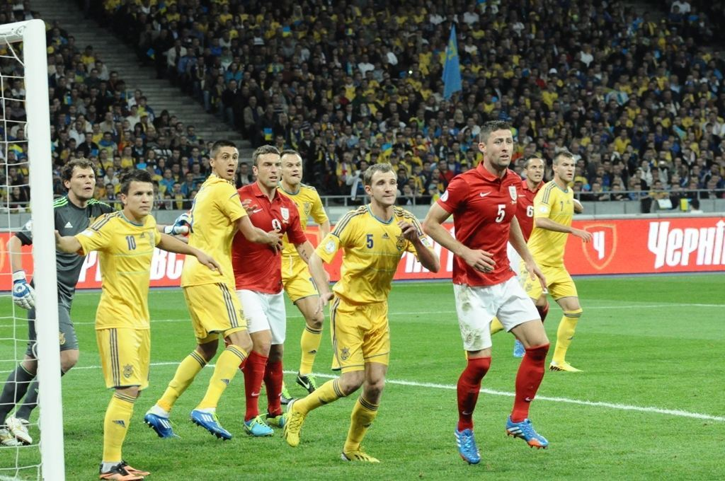 Украина – Англия: сухо и дискомфортно