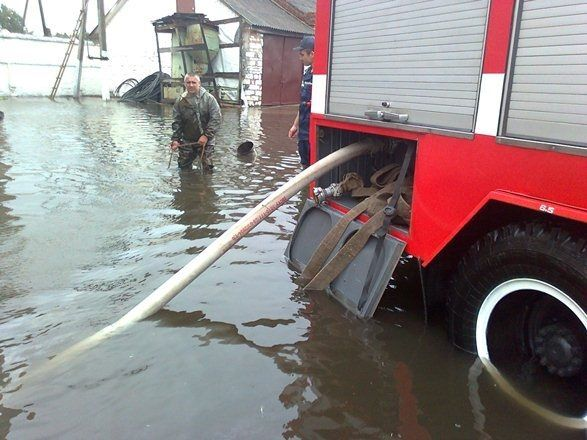 Хмельницьку область теж підтопило через дощі