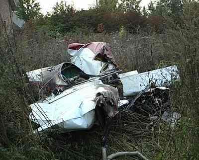 Под Коломыей рухнул самолет: есть погибшие