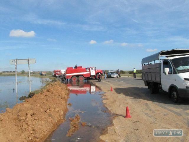 Одещині через повені загрожує спалах тифу та сибірської виразки