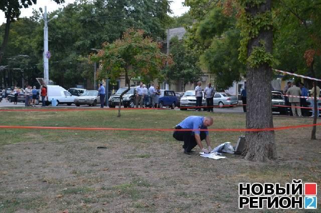 У центрі Одеси сталася перестрілка